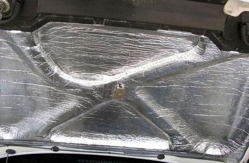 Шумоизоляция автомобиля своими руками капота